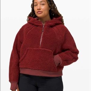 Lululemon oversized Sherpa 🍋